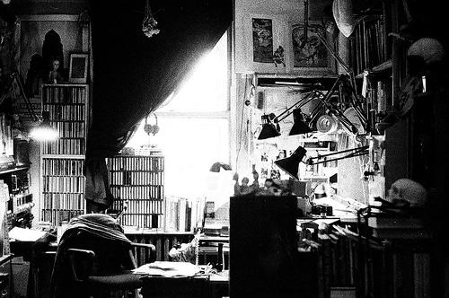 Michel Kaluta's Studio
