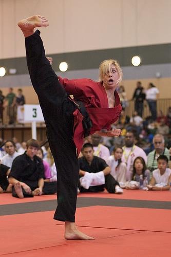 Tiger Claw Elite Grand Champion Becca Ross