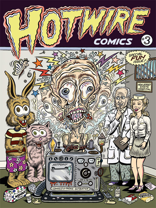 hotwire comics 3
