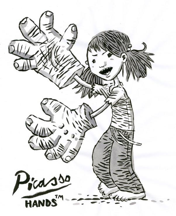 Picasso-Hands