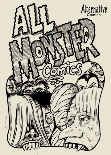 AlternativeComicsPresentsAllMonsterComics-Cover