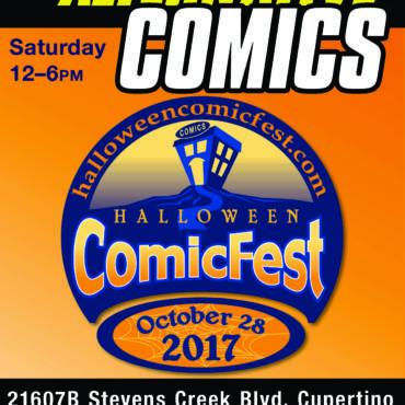 Halloween ComicFest 2017 at Wow Cool September 28
