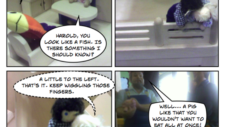 The Stupid Pages 26 – A Race of Eyeless Fish People Will Overrun Our Already Distressed Welfare System