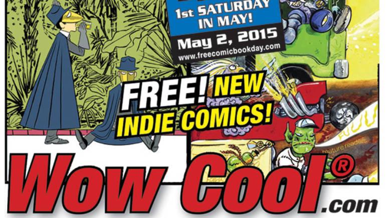 Free Comic Book Day at Wow Cool Alternative Comics