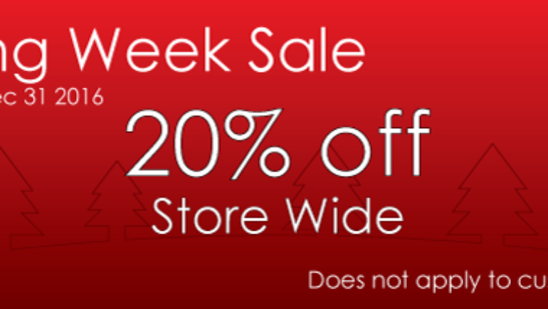Wow Cool Boxing Week Sale