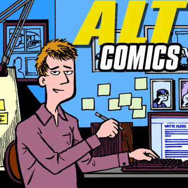 Peter S. Conrad on the AltComics Podcast