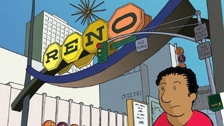 Help Get Mark Campos' Casino Son Comic Printed