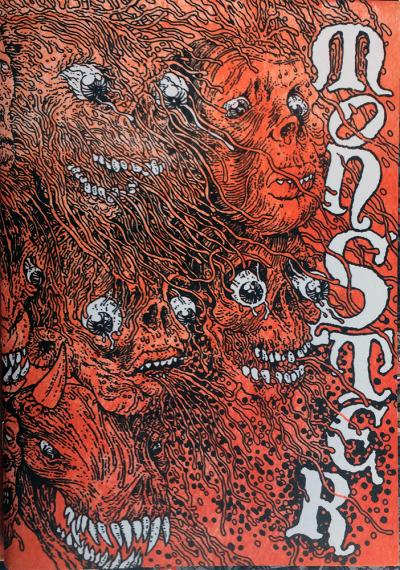 Monster 2010 cover art by Paul Lyons