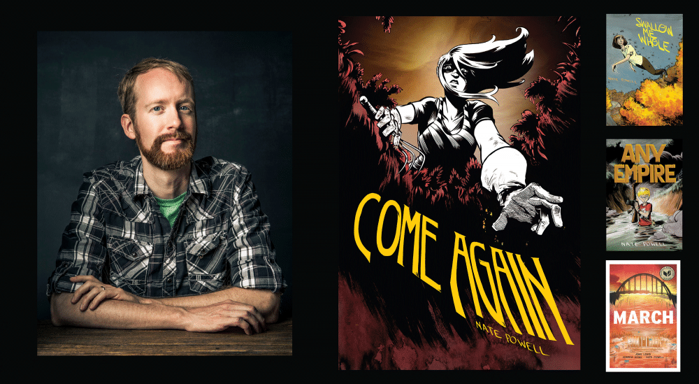 Nate Powell talk and signing for Come Again August 16