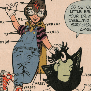CMY OK – Eclipse Comics Color Chart 1983