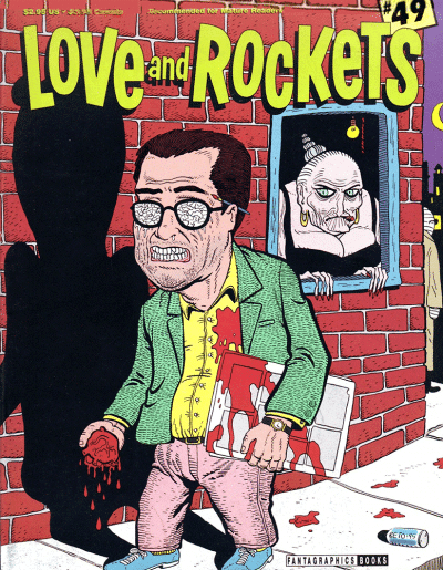 Love and Rockets 49 cover art