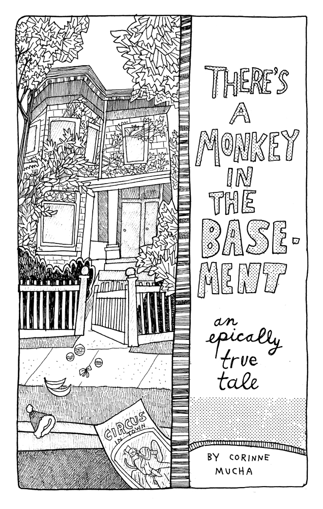the monkey in the basement comics wow cool