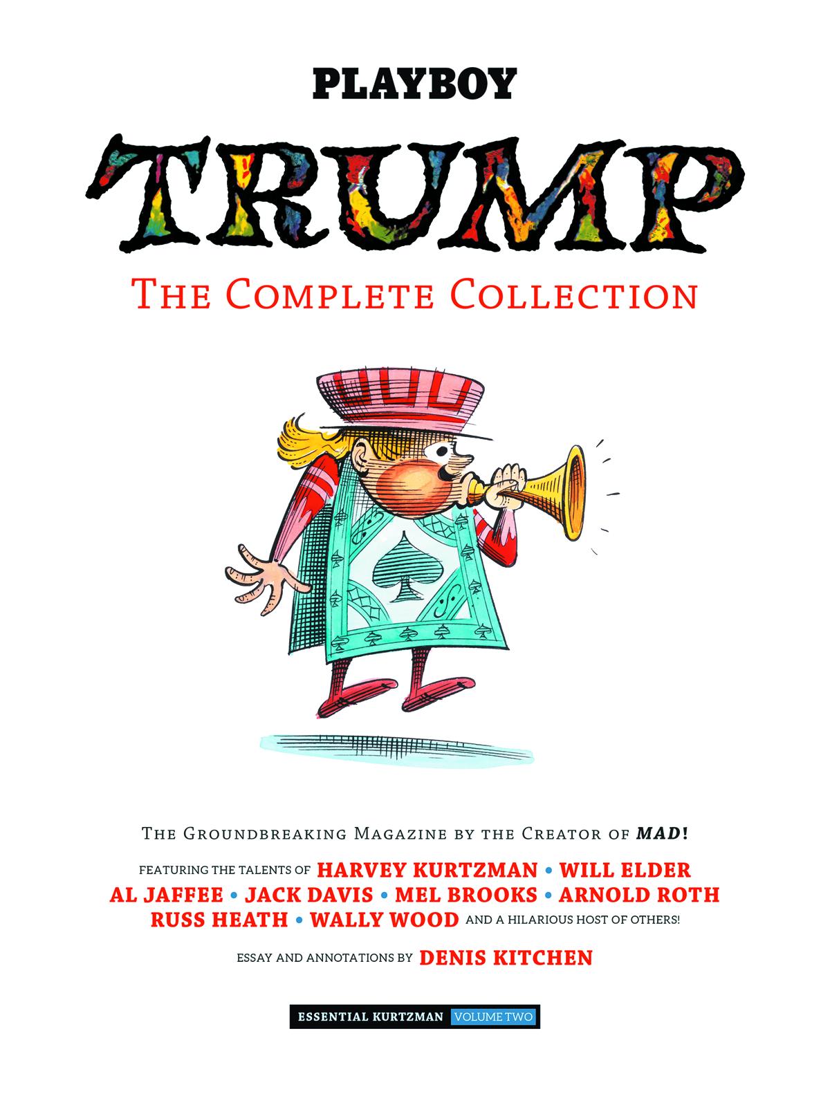 Essential Kurtzman Vol 2 The Complete Trump Magazine