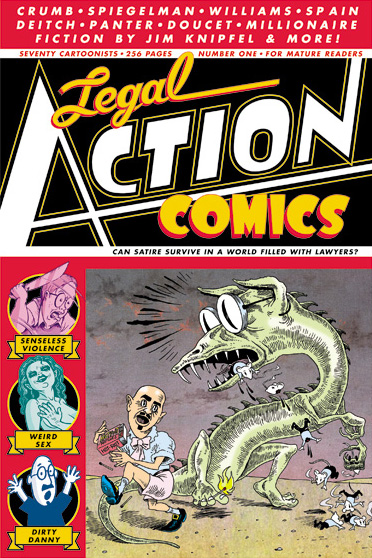 Legal Action Comics Vol. 1
