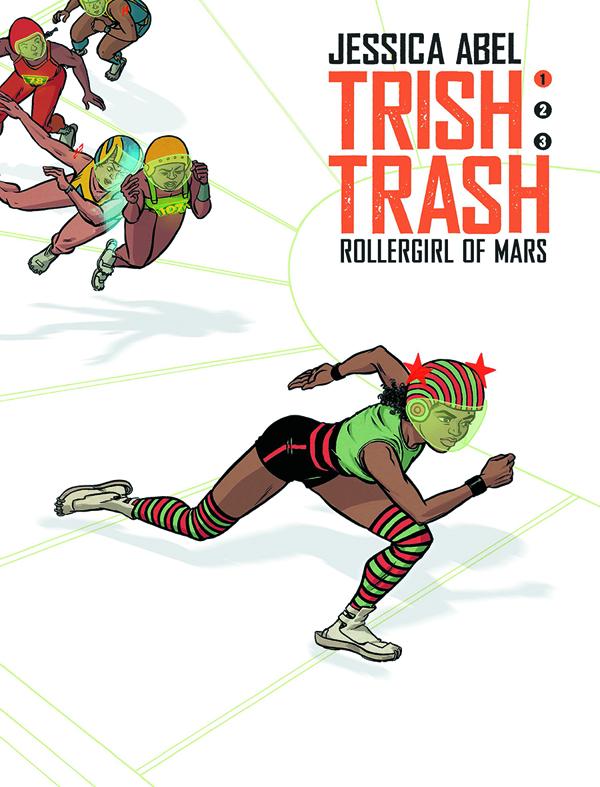 Trish Trash Rollergirl Of Mars Vol 1