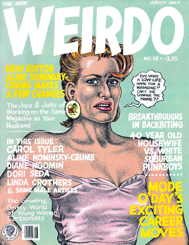Weirdo #18 :: Weirdo :: Anthologies :: Comics :: Wow Cool®