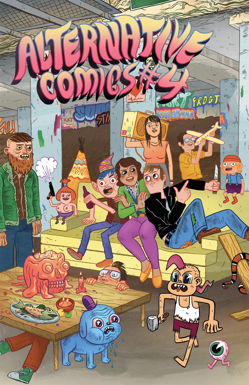 Alternative Comics #4