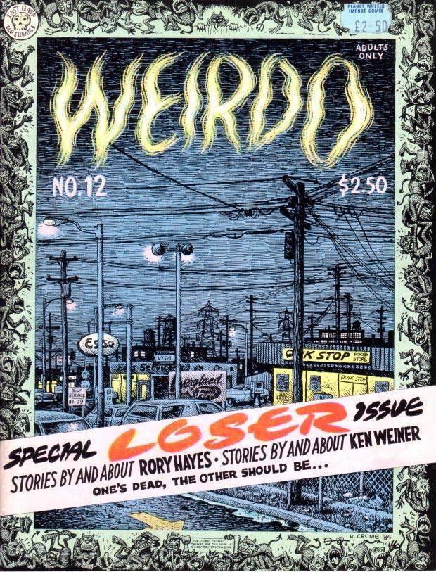 Weirdo #12 :: Weirdo :: Anthologies :: Comics :: Wow Cool®