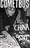 Cometbus #54 in China with Green Day
