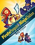 Pirate Penguin vs Ninja Chicken (Book 1): Troublems with Frenemies