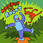 Monkey Vs. Robot